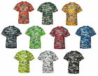 Badger Mens B-Core Digital Camo T-Shirt, Camouflage, Dry wicking  (4180)