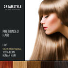 Pre Bonded I Tip 100% Remy Human Hair Extensions stick tip