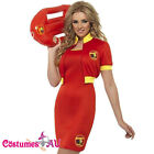 Ladies Baywatch Lifeguard Beach Patrol Fancy Dress Costume Pool Party Outfits