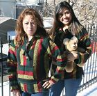 Resale Lot Three Pack Rasta Colors Baja Jacket Hoodie Drug Rug Wholesale Mexico