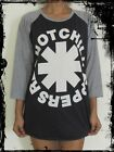 Unisex Red Hot Chili Peppers Raglan 3/4 Length Sleeve Baseball T-Shirt Vest