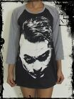Unisex Heath Ledger Raglan 3/4 Length Sleeve Baseball T-Shirt(Vest Tank Jumper)