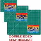 Self-Healing Green Cutting Mat Paper Hobby Craft Knife Board Printed Gridlines