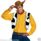 CL348 Toy Story Woody Adult Men Halloween Fancy Cowboy Costume Accessory Kit Set