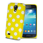 For Various Mobile Phone Polka Dots Silicone Glossy Gel Skin Case Cover