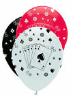 Card Night | Casino | Poker Party Helium Quality Latex Balloons 4-30pk