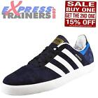 Adidas Originals Mens Busenitz ADV Casual Retro Suede Trainers Navy *AUTHENTIC*