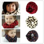3 Colors New Korean Baby Pentagram Children Warm Winter/Fall Knitting Scarf - CB