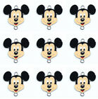 Lot Classic Mickey Mouse Jewelry Making Metal Charms Pendants Party Gifts E64