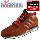 Adidas Originals Mens ZX Casual Mid Trainers Brown * AUTHENTIC *