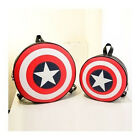 Best-selling Avengers Captain America Shield Student Backpack Book Bag US HU