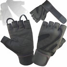Top Quality Body Building Weight Lifting Gloves Gym Training Long Straps 110