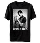 Adult Black High School Comedy Movie Napoleon Dynamite Uncle Rico T-Shirt Tee