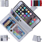 Detachable Magnetic Flip PU Leather Wallet Case Cover for Various Phone Model