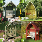 NEW WOODEN GARDEN ARBOUR MC3
