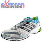 Adidas Mens Supernova Glide 3m Premium Running Shoes Big Sizes White *AUTHENTIC*