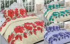 Lucy Floral Poly Cotton Printed Duvet Cover Pillowcase Quilt Cover Bedding Set