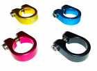BIKE CYCLE SEAT POST CLAMP - VARIOUS COLOURS - 28.6mm