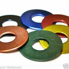 M8 x 40mm GWR Colourfast® Penny Washers - A2 Stainless Steel - Coloured Washer