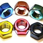 M6 GWR Colourfast® Hex Full Nuts - A2 Stainless Steel - Coloured Hexagon Nut