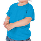 Внешний вид - Infant Fine Jersey Short Sleeve T Shirt Blanks 24 Colors 6M to 24M VALUE PRICED!