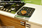 Brushed Stainless Steel Worktop Protecto...