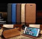 Old Fashion PU Leather Business Case Cover Sleeve Pouch For iPhone 5/6 Accessory