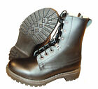 Black Leather ASSAULT BOOTS - British Army - Size UK 8, 9, 10, 11, 12 - Grade 1