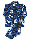 Mens AFL Licensed Flannel 2pc PYJAMAS Pjs CARLTON BLUES Sz S M L XL