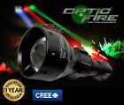 Opticfire TX-67 T67 mini LED hunting light torch lamp nightvision red gre XML IR