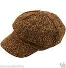 Kids Boys Tudor Victorian Flat Cap Hat Fancy Dress Costume
