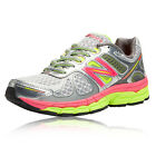 New Balance Womens W860v4 Silver Support Running Trainers Pumps Shoes D Width