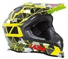 LAZER X8 ARAS FREESTYLE REPLICA MOTOCROSS MX ENDURO HELMET YELLOW / BLACK / RED