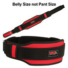 """MRX Weight Lifting Belts Gym Fitness Back Support Training 5"""" Wide Belt 7 Colors"""