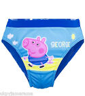 Babies Baby Boys George Pig from Peppa Pig Swimming Trunks Briefs Shorts 2-6yrs