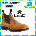 Redback UBBA Men's Boot NON Safety SOFT TOE SUEDE 100% SAND WORK BANANA BOOTS