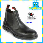 REDBACK Work Boots USBBL BLACK BOBCAT RAMBLER Slip On Steel Toe ALL SIZE
