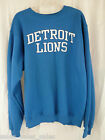 DETROIT LIONS Sweatshirt Boys Size Large Reebok Crew Football NWT