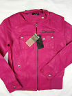 NWT Alpinestars FMX Moto-X race F-1 Pilot Jacket women zip-up Fuschia Violet