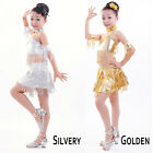 Kid's dance costumes beautiful  Latin dance clothing for girls 2 colors