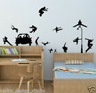 PARKOUR STICKERS / WALL STICKER / WALL QUOTE / WALL ART / N115