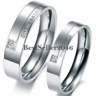 Silver Infinity Ring Blossom Couples Wedding Band Ring for Engagement Promise