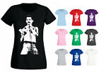 Womens Freddie Mercury Classic Rock Icon T-shirt NEW UK 6-18