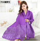 Free Shipping 2014 New National Style Women's  Pashmina Silk Shawl Scarf Wrap