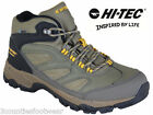 MENS WALKING BOOTS - HI TEC  WATERPROOF HIKING BOOTS RRP £69.99 - LIGHTWEIGHT