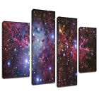 MSC218 Starry Space Sk Canvas Wall Art Multi Panel Split Picture Print