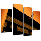 MSC413 Wall of the Kabah Canvas Wall Art Multi Panel Split Picture Print