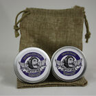 Beard Balm & Moustache wax Pocket Combo With Bag. 10ml Choice Of Scents