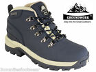 LADIES WALKING BOOTS - size 3 4 5 6 7 8 WATERPROOF HIKING BOOTS blue