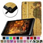 For 2014 NVIDIA Shield 2 8-Inch Slim Leather Lightweight Smart Case Stand Cover
